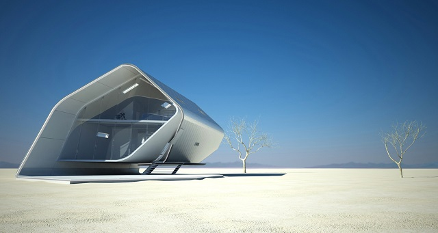 See the future: best futuristic styled houses See the future: best futuristic styled houses California Roll House 03