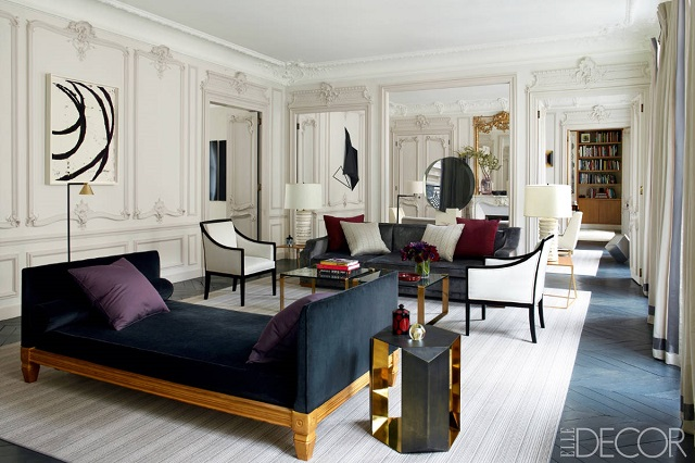 Favorite ELLE DECOR rooms of 2013 by professionals