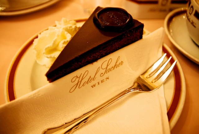 Conde Nast Traveler Choise- Hotel Sacher Vienna. One of the TOP hotels to stay in Europe!  Conde Nast Traveler Choise- Hotel Sacher Vienna. One of the TOP hotels to stay in Europe!  sacher cake