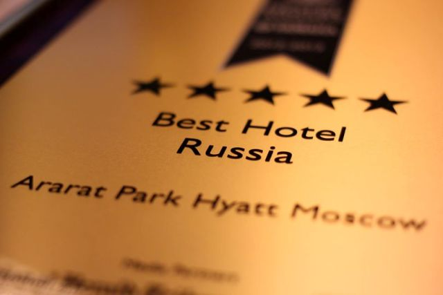 Luxury Hotel Design- International Hotel Awards Winner Ararat Park Hyatt Moscow