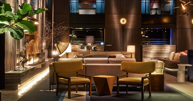 TOP DESIGN PARAMOUNT HOTEL IN NEW YORK: EDGY ELEGANCE