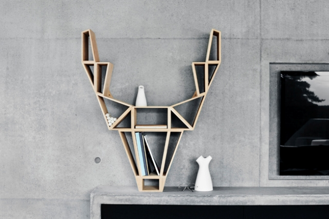 design school Scandinavian design school: interview with top designers 1 Exclusive interview deer shelf design