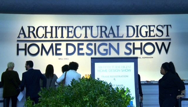 North America's Premier Show- Architectural Digest Home Design Show 2014. Best exhibitors