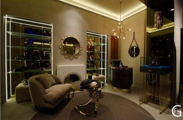 Top Retail Interior Design Project: Unique Handmade Lamps
