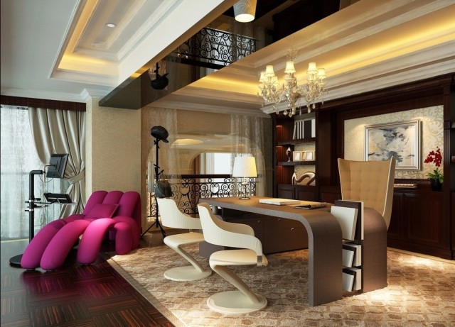 office interior design Elegant luxury office interior design ideas – Boca do Lobo luxury corporate office interior design 21