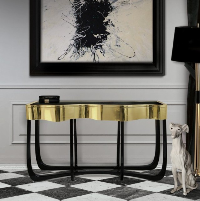 Exceptionnel Modern Console Tables Modern Console Tables 10 BEST MODERN CONSOLE TABLES  FOR LUXURY INTERIOR DESIGN PROJECT