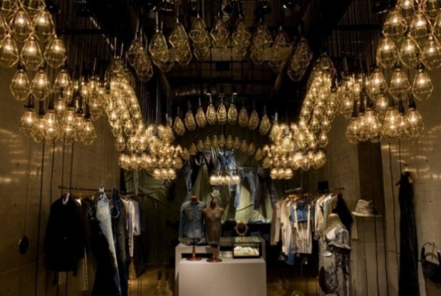 Beautiful-and- luxurious-boutique-stores- design-projects- 2014-Diesel Denim Gallery