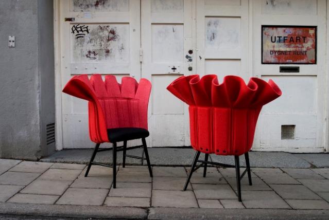 design furniture Design Furniture: Greatest Fashion Armchairs and Chairs Design Furniture Greatest Fashion Armchairs and Chairs 2014 F  rg Blanche RED REcover 1
