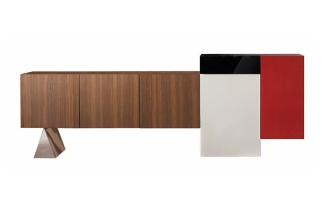 Iconic_design_ pieces-exclusive_ and_original_luxury_sideboards- 2014-Buffet Kapla par Cédric Ragot byRoche_Bobois