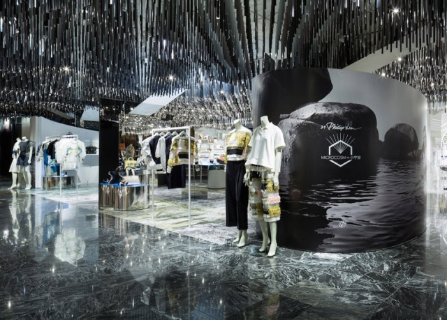 Spectacular fashion boutiques interiors Spectacular fashion boutiques interiors Spectacular  fashion boutiques interiors Philip Lim Pop Up Store by Schemata Architects