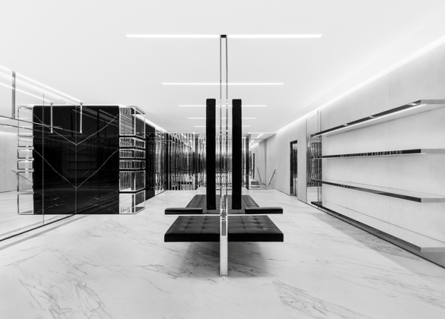 Spectacular_ fashion_boutiques_interiors- Saint-Laurent-store-Sloane-Street-London-by-Hedi-Slimane-2