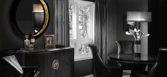 10 Perfect High-end Black Mirrors for luxury interiors