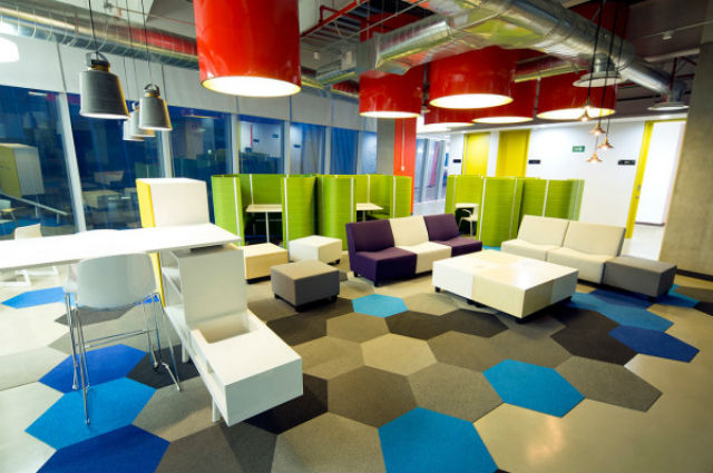 San Pablo Group Corporate Offices – A Colorful Space