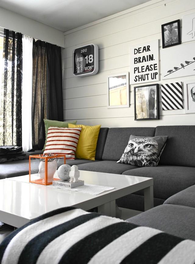 Black&White - A Classic in Interior Design   Design Contract