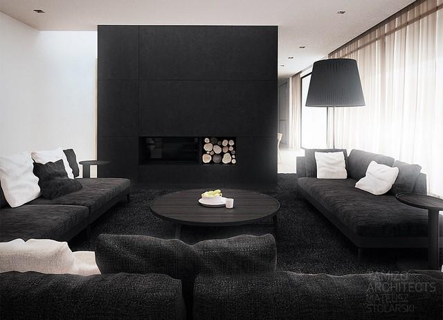 INTERIOR DESIGN COLOR SCHEMES BLACK AND WHITE Black&White - A Classic in Interior Design  Black&White – A Classic in Interior Design  INTERIOR DESIGN COLOR SCHEMES BLACK AND WHITE 61