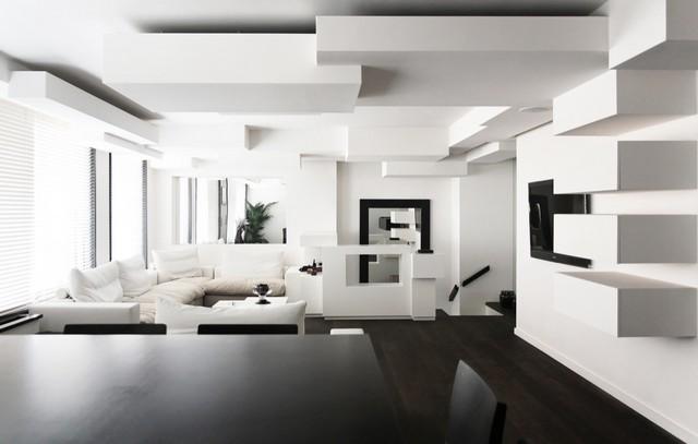 INTERIOR DESIGN COLOR SCHEMES BLACK AND WHITE Black&White - A Classic in Interior Design  Black&White – A Classic in Interior Design  INTERIOR DESIGN COLOR SCHEMES BLACK AND WHITE 91