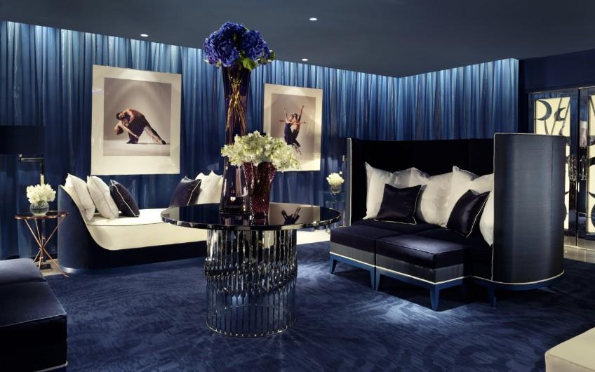 Navy blue hotel bedroom decor designer bedrooms Top 7 Stunning Designer Bedrooms Navy blue hotel bedroom decor