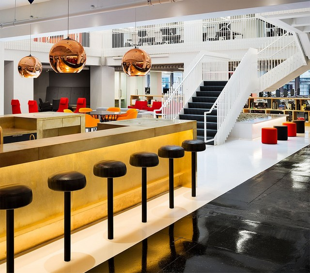 Interior Design Hall Of Fame Office By Clive Wilkinson Architects Design Contract