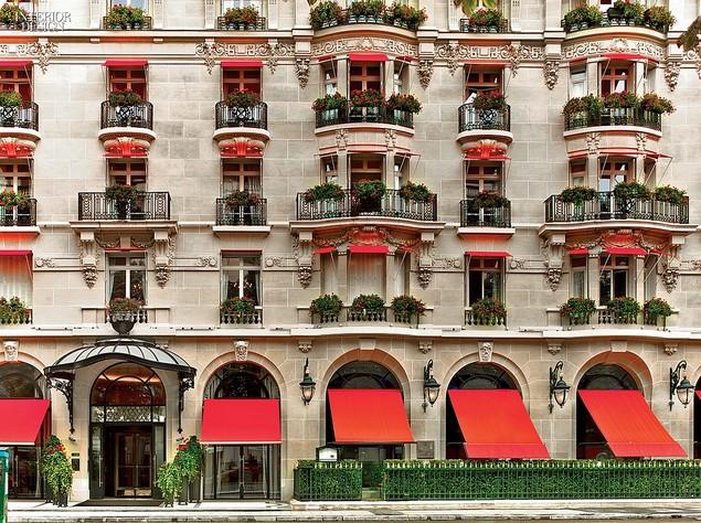 Jouin Manku doesn't stop! New Hôtel Plaza Athénée Bar and Restaurant 1