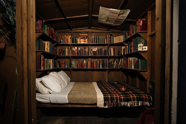 New york s mckittrick hotel opens the lodge design contract for Design hotel book 2015