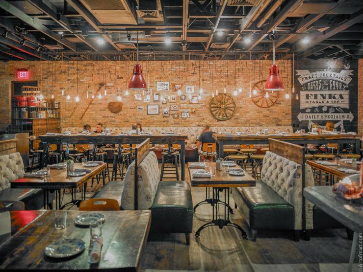 Top 25 Miami Design Restaurants design restaurants Top 25 Miami Design Restaurants FINKA TABLE TAP MIAMI