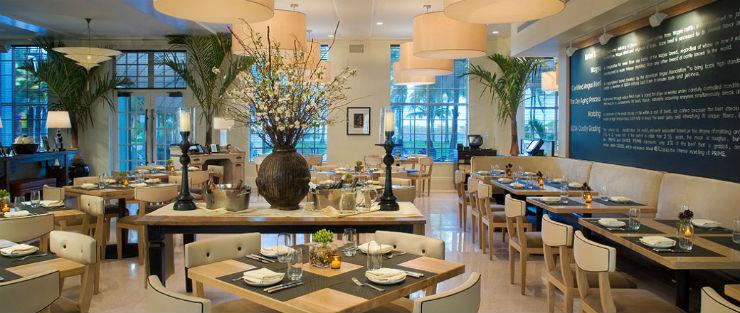 Top 25 Miami Restaurants design restaurants Top 25 Miami Design Restaurants The Betsy Hotel