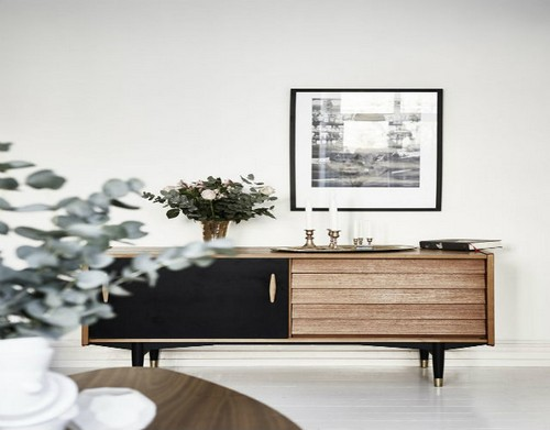 Top 50 Beautiful Sideboards for hotel bedroom Top 50 Beautiful Sideboards for Hotel bedrooms Top 50 Beautiful Sideboards for Hotel bedrooms 17TOP 50 MODERN SIDEBOARDS outstanding mid century modern sideboard with black details