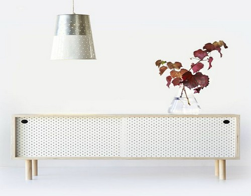 Top 50 Beautiful Sideboards for hotel bedroom Top 50 Beautiful Sideboards for Hotel bedrooms Top 50 Beautiful Sideboards for Hotel bedrooms 3TOP 50 MODERN SIDEBOARDS white pegboard doors this one   s designed by leanne culy