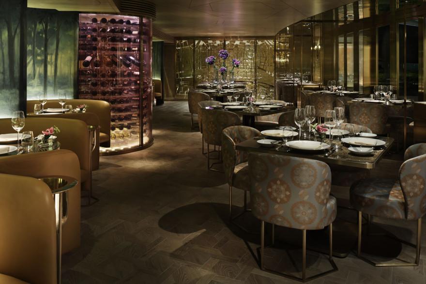 Winners Of 2015 Restaurant Bar Design Awards Lighting Dalloyau Hong Kong
