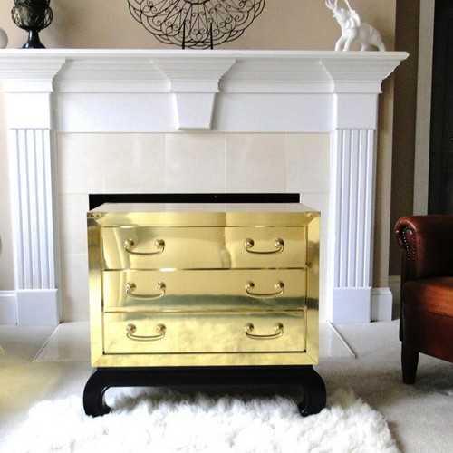 50 Modern Nightstands to any luxury Hotel Room 50 Modern Nightstands to any luxury Hotel Room 50 Modern Nightstands to any luxury Hotel Room Brass BedsideTable 2