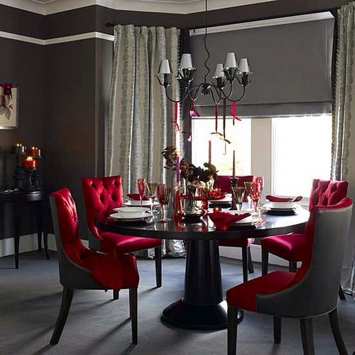 50 Modern Dining Chairs to use in Restaurant Decor 50 Modern Dining Chairs to use in Restaurant Decor 50 Modern Dining Chairs to use in Restaurant Decor Dining Room Chair Ideas in red fabric details 28