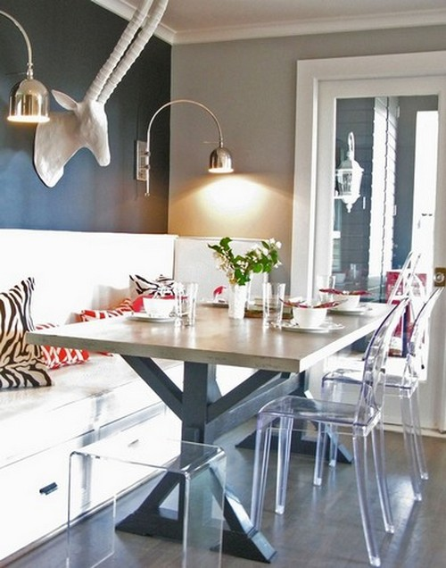 50 Modern Dining Chairs to use in Restaurant Decor 50 Modern Dining Chairs to use in Restaurant Decor 50 Modern Dining Chairs to use in Restaurant Decor Modern Design Ghost Dining Chairs by Philippe Starck