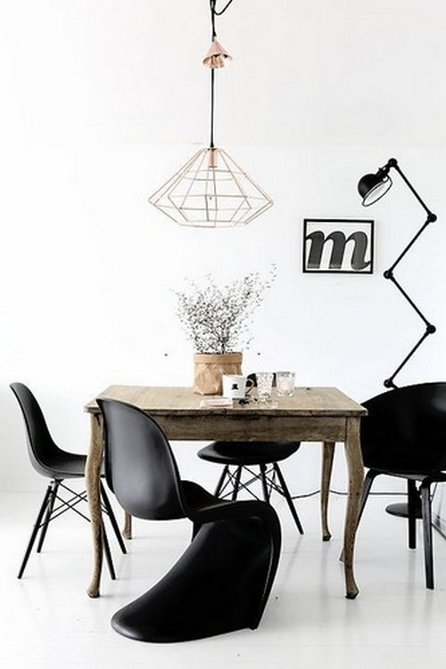 50 Modern Dining Chairs to use in Restaurant Decor 50 modern dining chairs to use in restaurant decor 50 Modern Dining Chairs to use in Restaurant Decor Modern Dining Chairs in black plastic 19