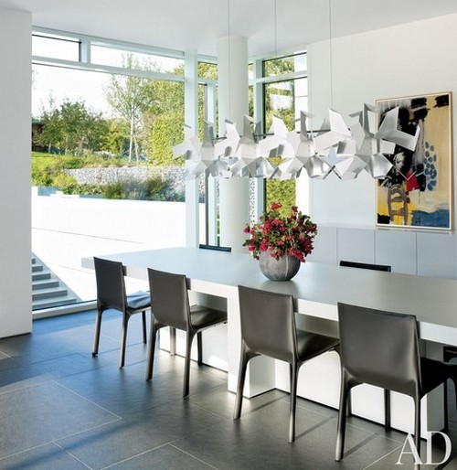 50 Modern Dining Chairs to use in Restaurant Decor 50 modern dining chairs to use in restaurant decor 50 Modern Dining Chairs to use in Restaurant Decor Modern Dining Room Richard Meier Partners Architects Luxembourg
