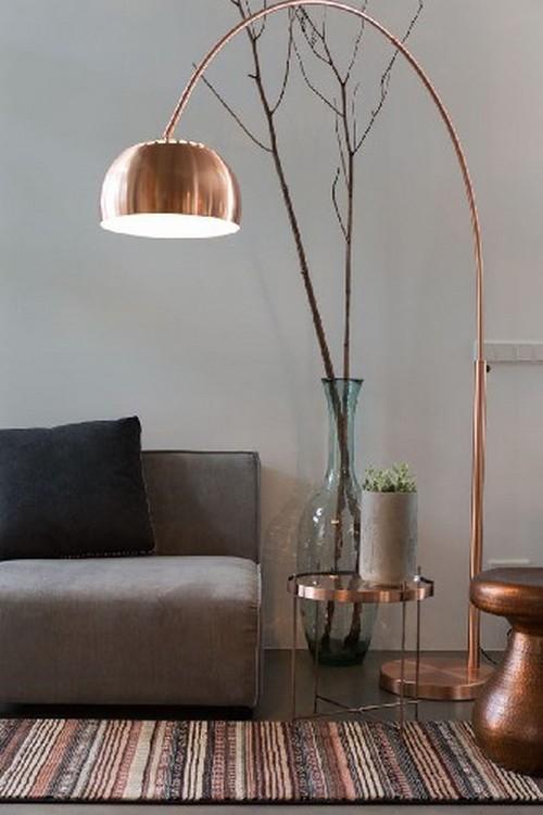 Top 50 Modern Floor Lamps for Hallway design Top 50 Modern Floor Lamps for Hallway design Top 50 Modern Floor Lamps for Hallway design Top 50 modern floor lamps metallic copper floor lamp1