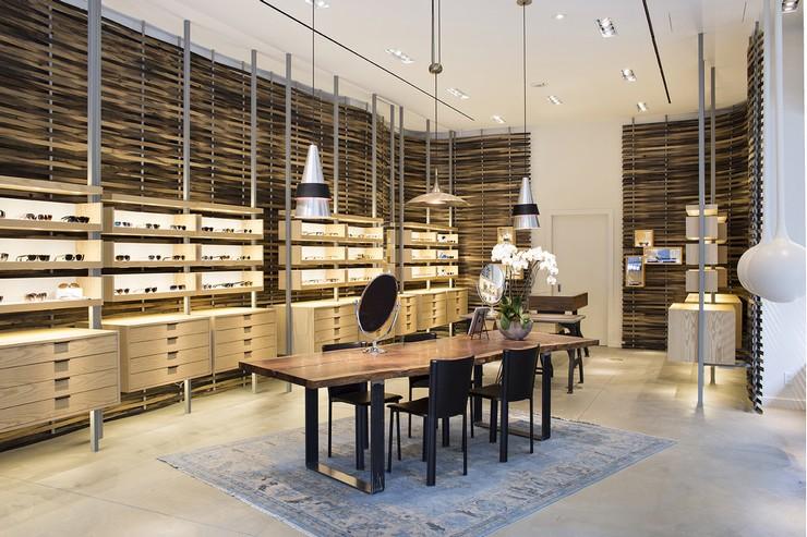 Best Store Design Projects by Marmol Radziner store design Best Store Design Projects by Marmol Radziner oliver peoples s