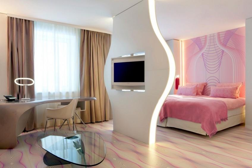 Nhow Berlin Hotel bedroom Karim Rashid Karim Rashid Outstanding Hotel Design: Nhow Hotel Karim Rashid Outstanding Hotel Design Nhow Hotel 11