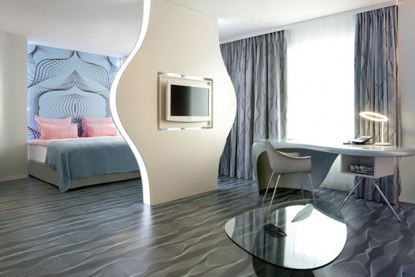 Nhow Berlin Hotel bedroom Karim Rashid Karim Rashid Outstanding Hotel Design: Nhow Hotel Karim Rashid Outstanding Hotel Design Nhow Hotel 7