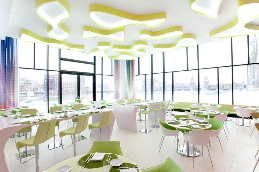 NHow Berlin dining room area Karim Rashid Karim Rashid Outstanding Hotel Design: Nhow Hotel Karim Rashid Outstanding Hotel Design Nhow Hotel 9