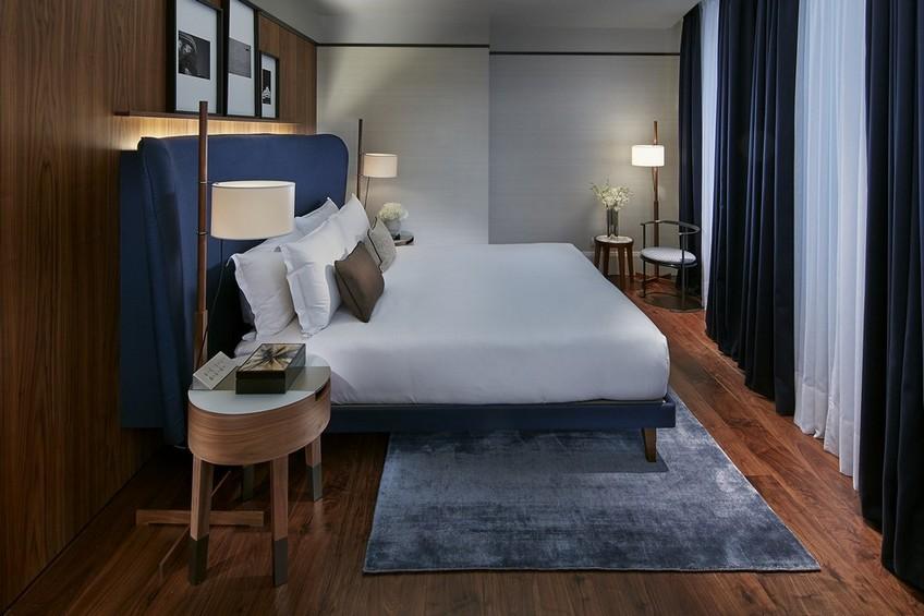 Milano suite bedroom designed by Gio Ponti