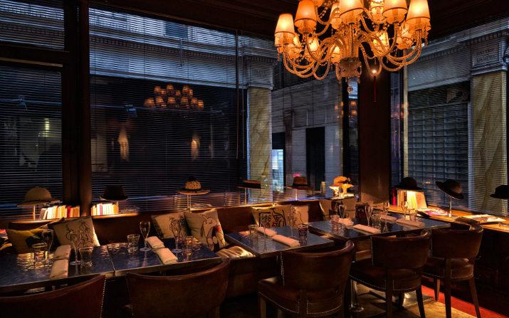 The amazing interior design of the Caffè Stern in Paris