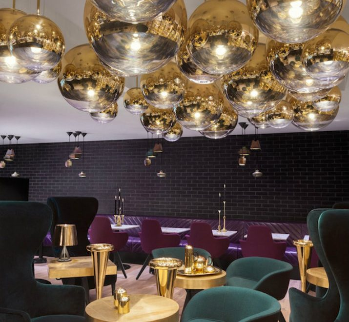 The awesome Tom Dixon's Sandwich Restaurant in London