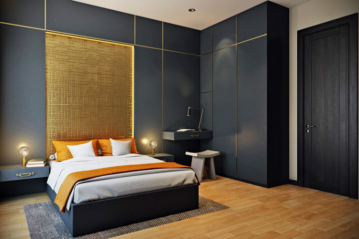 Stunning wall texture ideas for hotel designs hotel designs Stunning wall texture ideas for hotel designs Top Bedroom Wall Textures Ideas asian