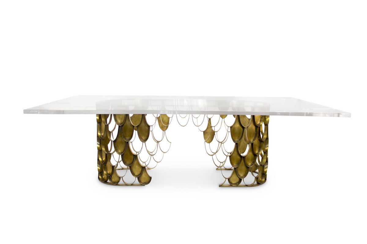 145 Striking Hospitality Furniture That Will Blow Your Mind- Part2 hospitality furniture 145 Striking Hospitality Furniture That Will Blow Your Mind- Part2 KOI Dining Table II