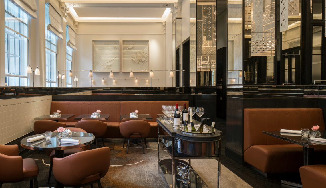 5 Contemporary Interior Designs from the best French Restaurants