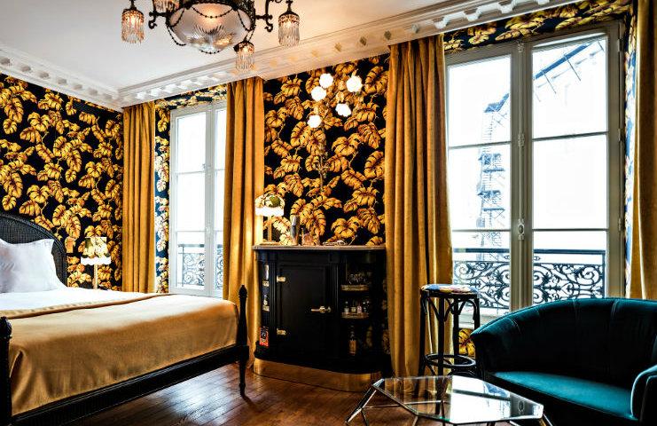 Best boutique hotel design hotel design Best boutique hotel design in Paris chambre deluxeredi