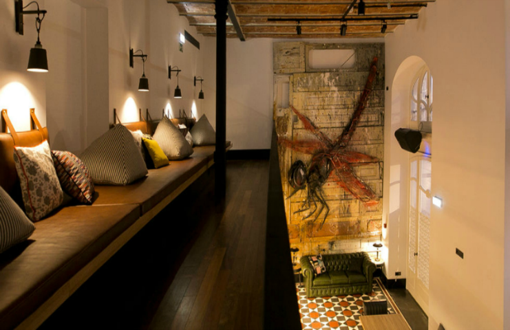 boutique hotel Renovation of award-winning boutique hotel 1908 in Lisbon 58f88cacbbadco