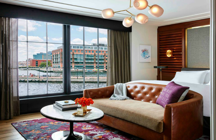 Luxury hotel Sagamore Pendrythe-latest high-end property in Baltimore