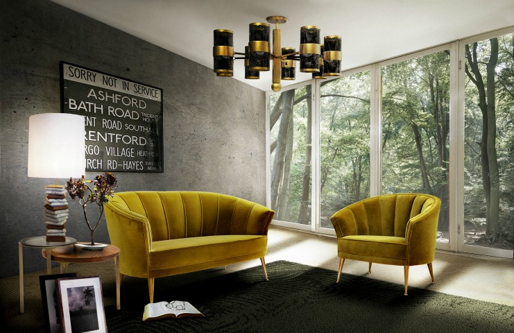 Top 10 Velvet Sofas for the perfect Lobby Design