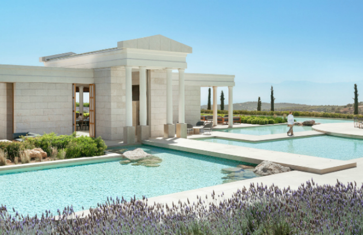 Top 5 Luxury Hotels in Greece To Enjoy The Perfect Vacation luxury hotels Top 5 Luxury Hotels in Greece To Enjoy The Perfect Vacation amanzoe resort greece central terrace and bar